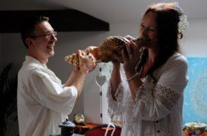 Kosmisch Huwelijk Linda&Jeroen-foto eigendom www.vleugelhoorn.be